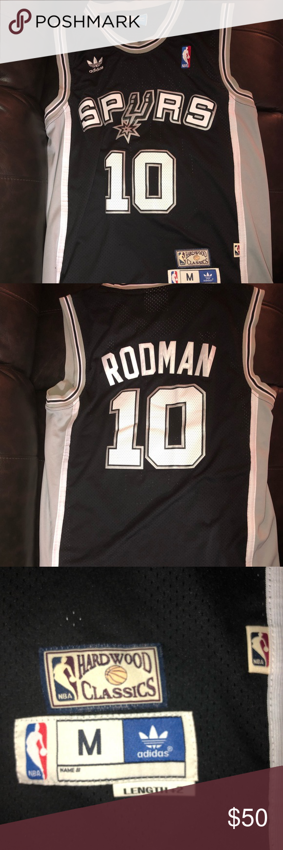 Dennis Rodman Jersey in 2018  f5ed53bc7