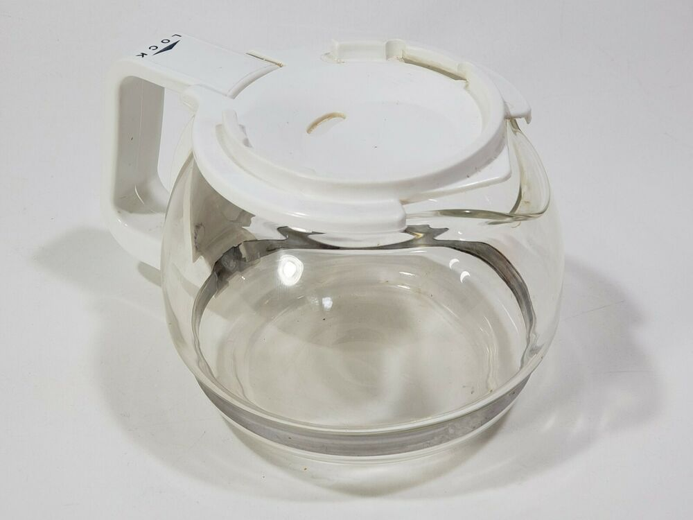 Melitta Gevalia 4 Cup Replacement Coffee Maker Bcm 4c White Bcm 4 Glass Carafe Glass Carafe Gevalia Carafe
