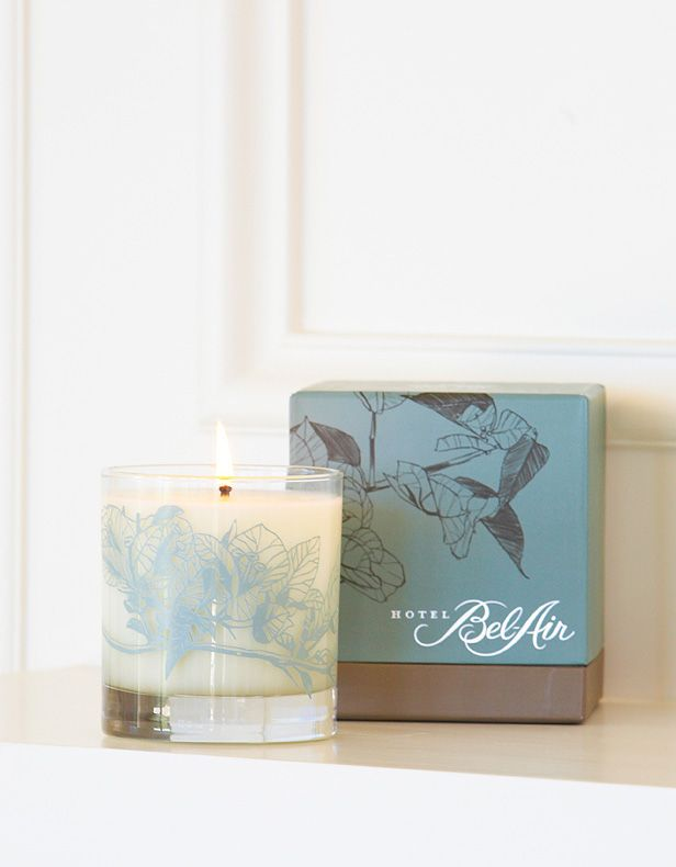 Antica Farmacista | 9oz Platinum Round Candle Gardens of Bel-Air - Hotel Bel-Air - Hotel Partnerships - Collaborations