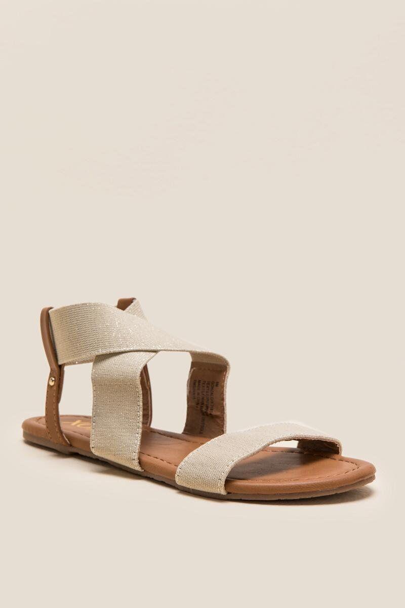 3a33dc3dcdc2 XOXO Gonzalo Shimmer Gladiator Sandal
