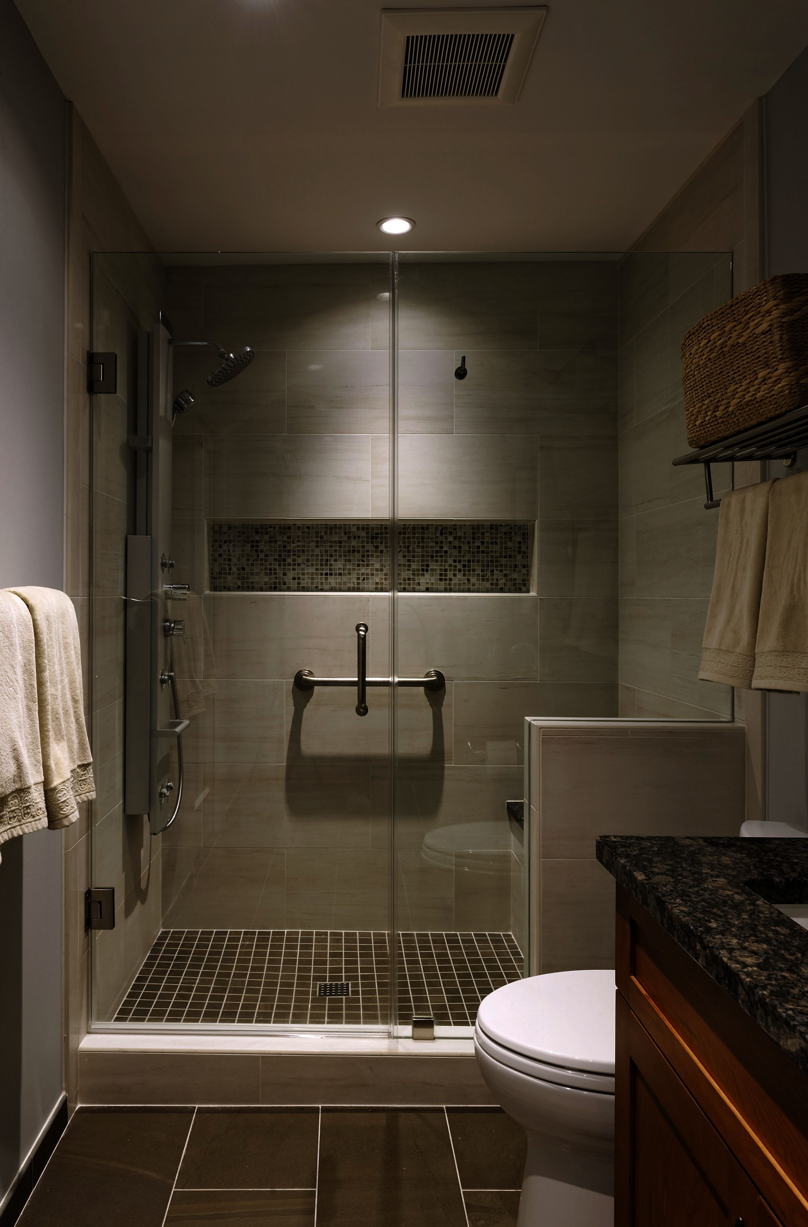 Bathroom Glass Little Bathroom Cabinets Made To Order If Bathroom Ideas In Black While Bath Brown Tile Bathroom Bathroom Remodel Shower Bathroom Remodel Master