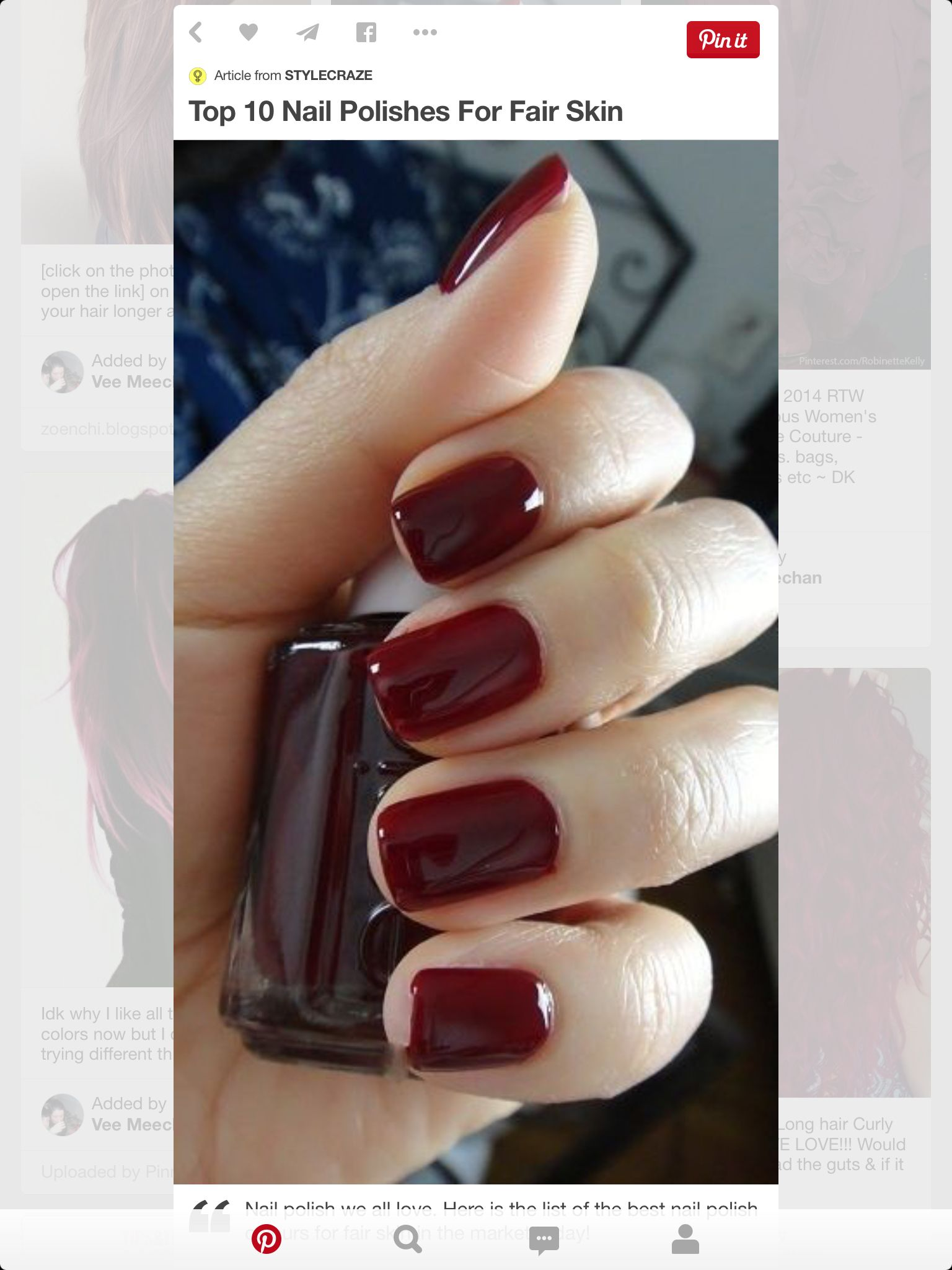 Pin by kayla gove on manicures | Pinterest | Makeup, Nails games and ...