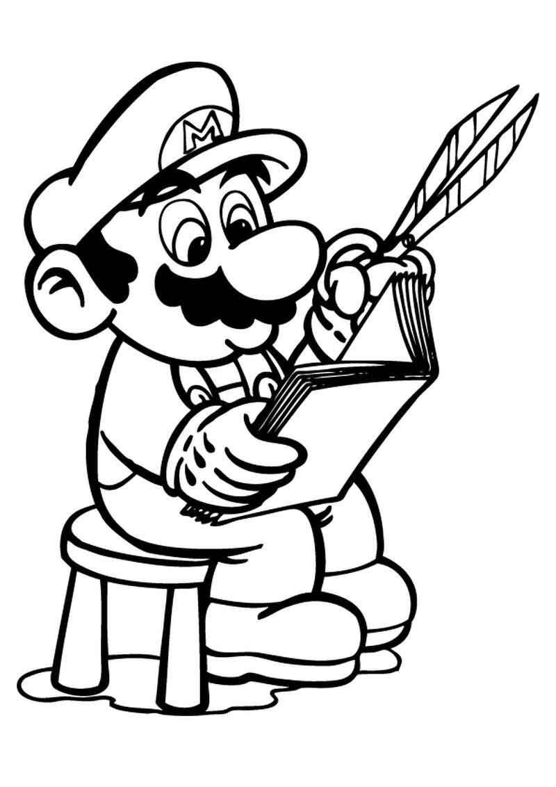 Coloring Pages Super Mario | Mario coloring pages ...