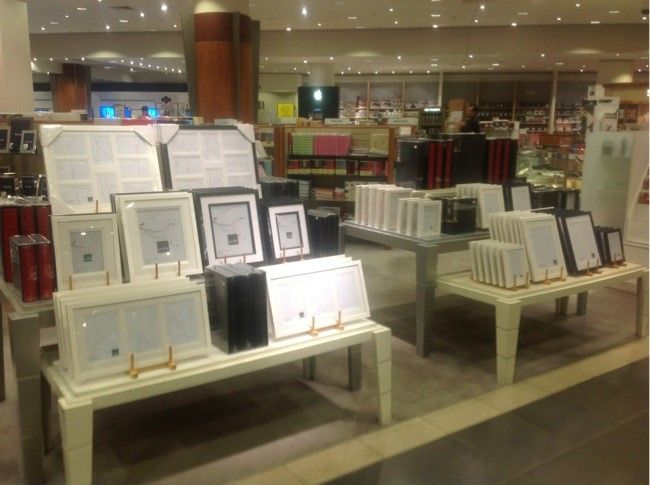 Our Profile quality photo frames displayed at David Jones store in ...