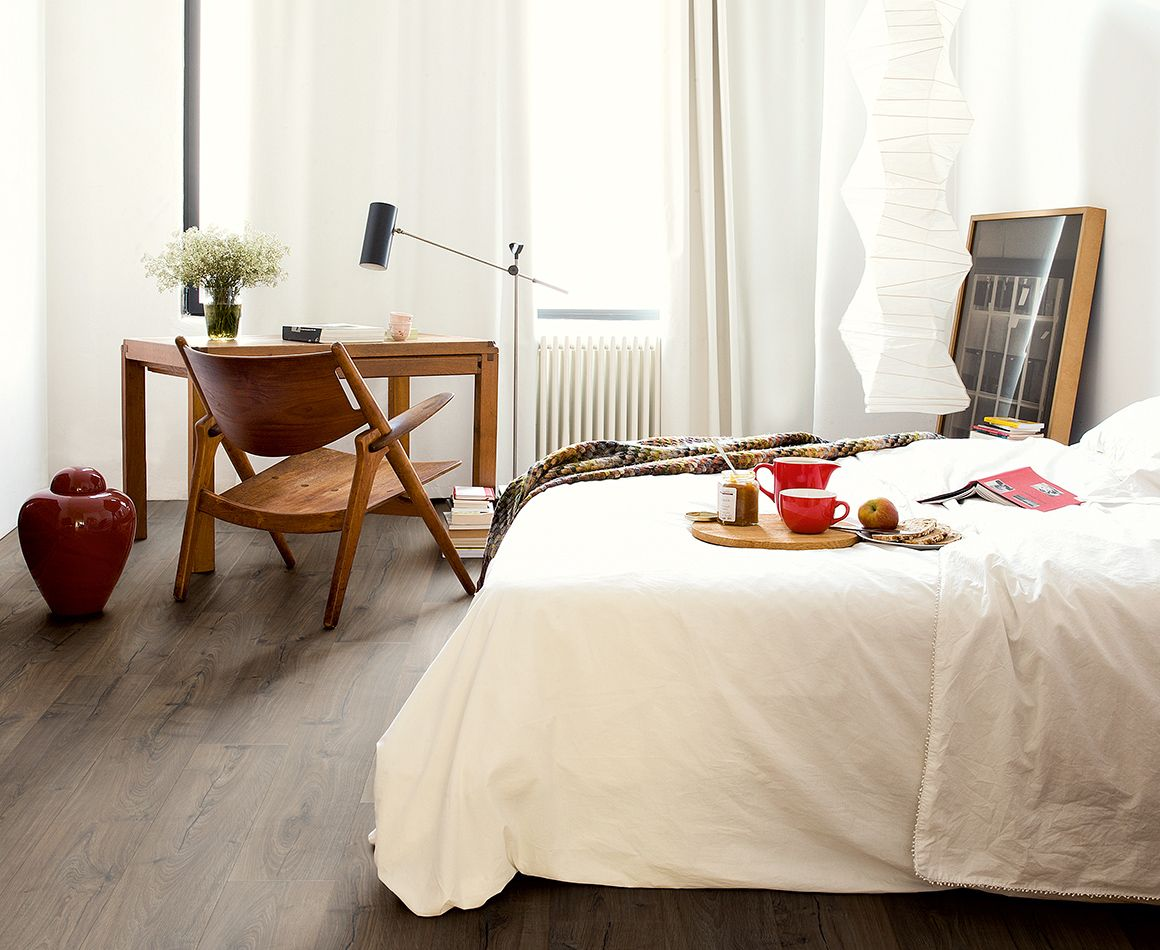 Laminaat slaapkamer, Vloeren slaapkamer laminaat, Vloer inspiratie ...