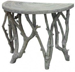 Perfect Half Circle Porch Table