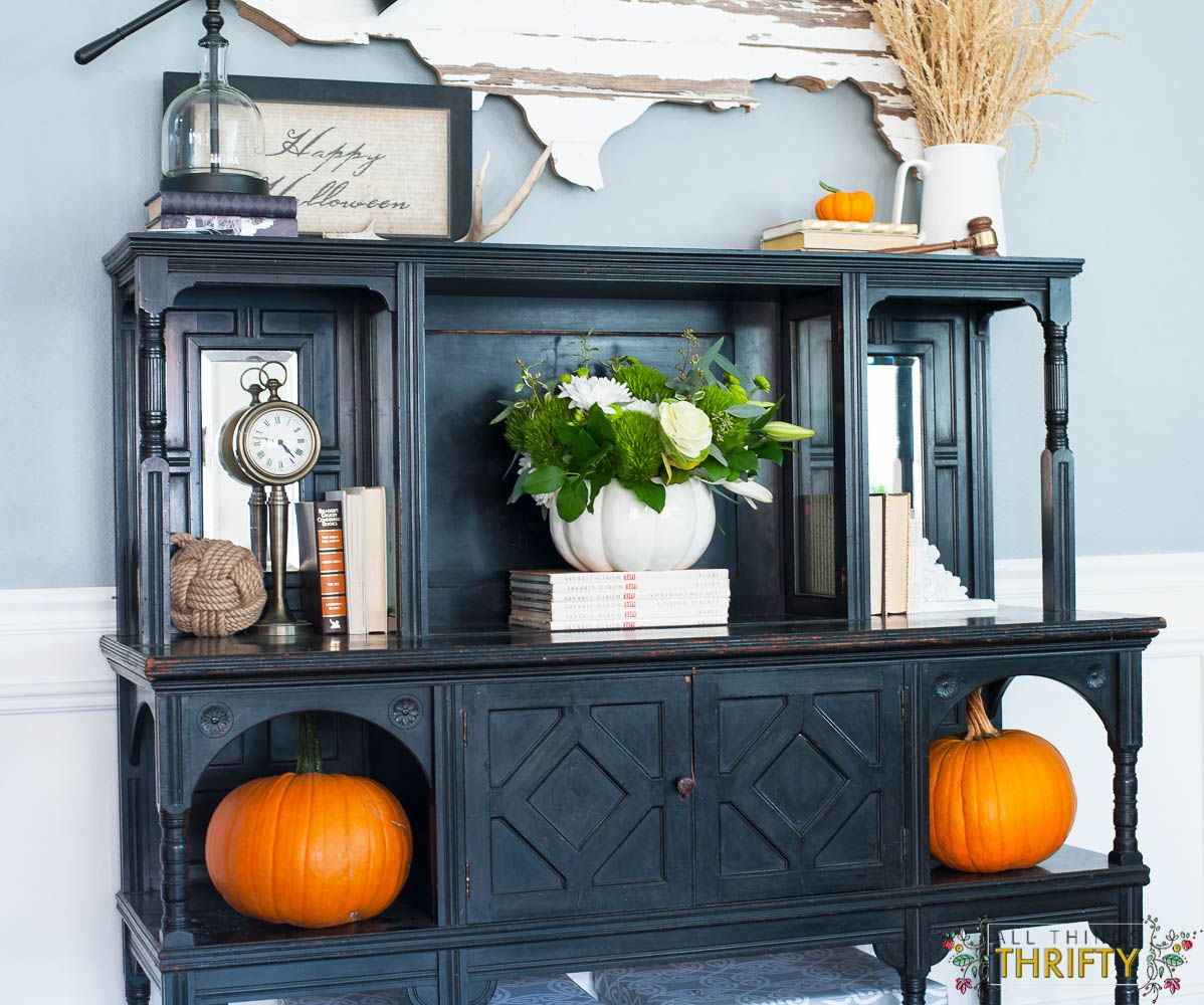 Home Garage Design Ideas: Fall Decorating Tour Part 1 {Garage Cleaning}