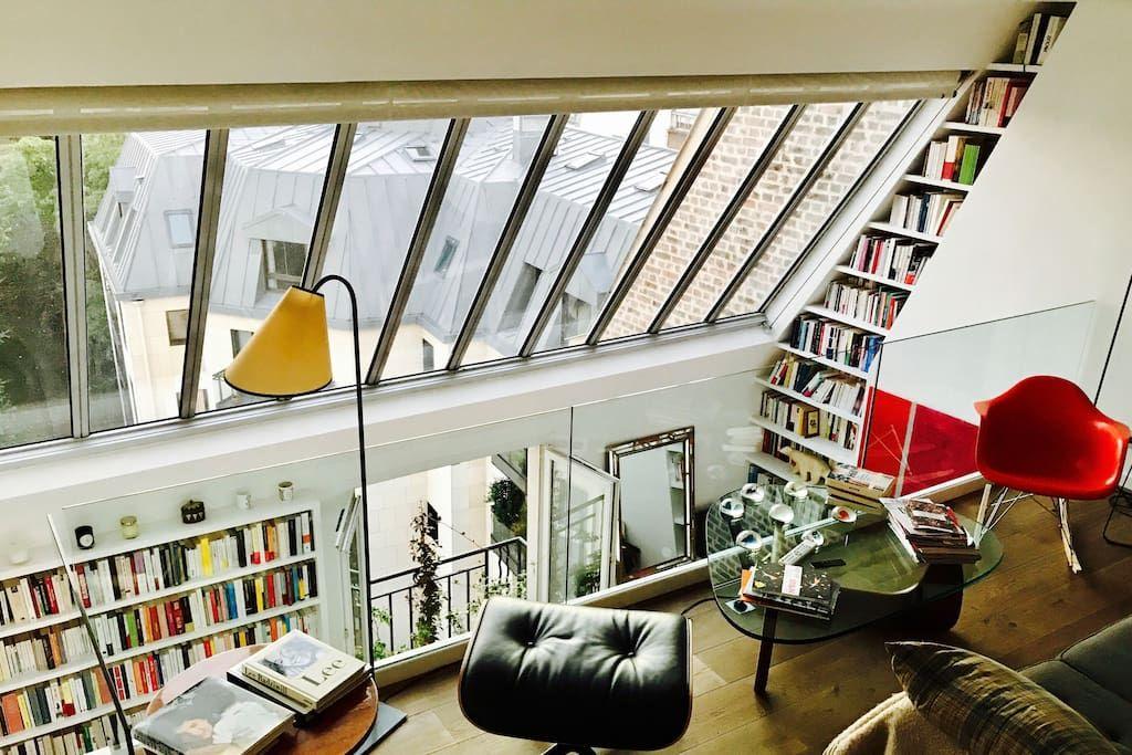 Rare penthouse Montparnasse / St Germain des près