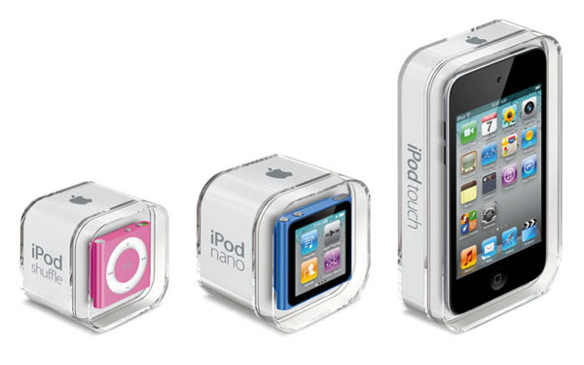 Music for all different sizes with IPod Mini, IPod Nano