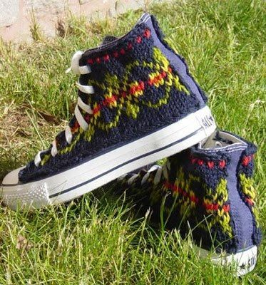 OH MY!  http://theknittingneedleandthedamagedone.blogspot.com/2013/01/these-boots-were-knitted-for-walking.html?utm_source=20130130_medium=Facebook_campaign=Knittied%2Bshoes