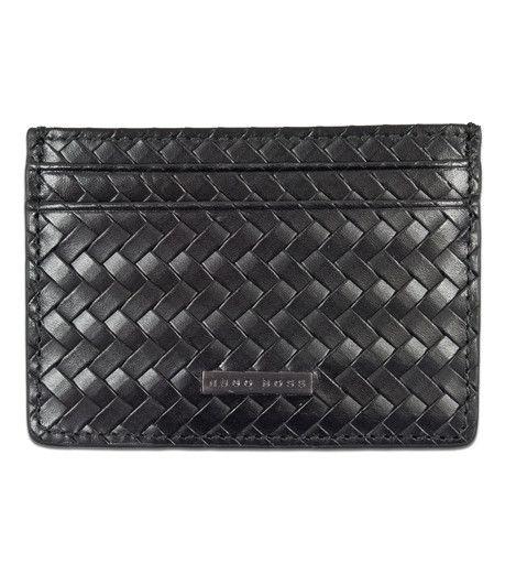 Hugo boss black palmares black credit card holder in black wallets hugo boss black palmares black credit card holder in black colourmoves