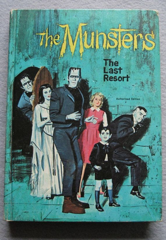 "Vintage 1966 The Munsters ""The Last Resort"" HB Book Whitman, via Etsy."