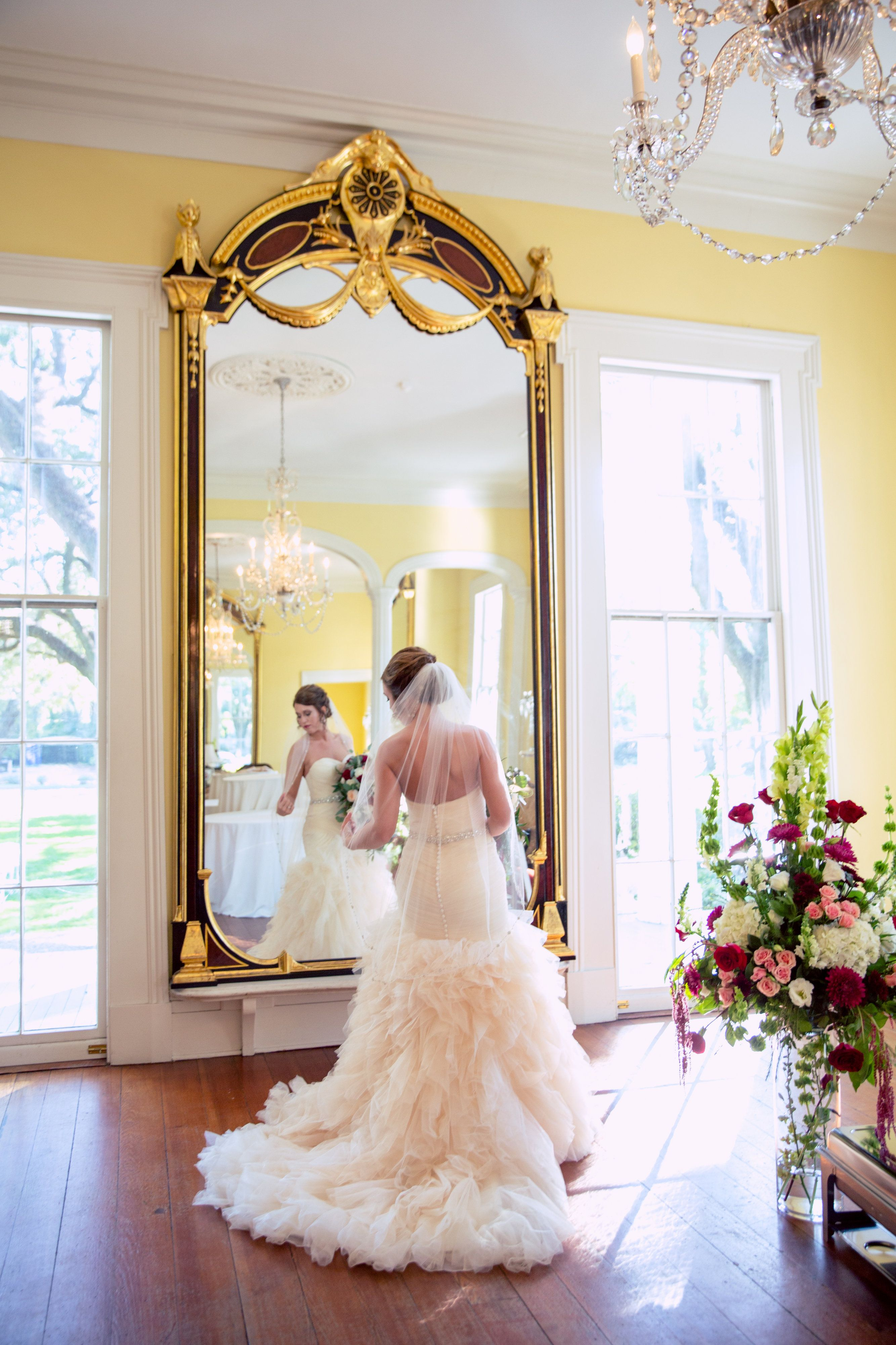 Wedding At Bragg Mitchell Mansion In Mobile Al By Www Oncelikeaspark