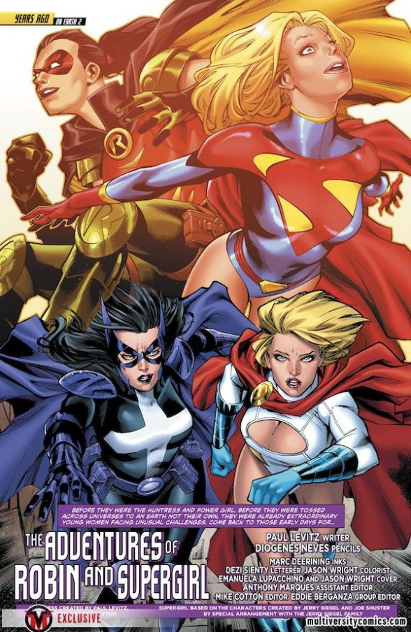 """Multiversity Comics » Exclusive: Travel 5 Years Into The Past With The """"Worlds Finest"""" Annual #1 [Preview]"""