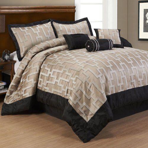 Campton 7 Piece Comforter Set California King Comforter