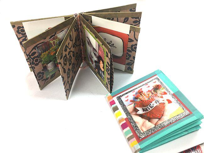 Mini Scrapbook for Sprocket Printer Suitcase