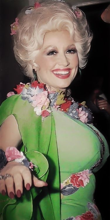 Another gem from The Dolly Parton Scrapbook! Beautiful