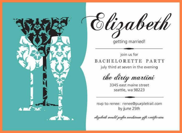 Bachelorette Party Invites Online