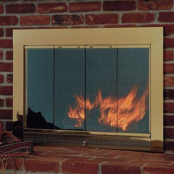 Slimline Fireplace Glass Door Woodlanddirect Fireplace Glass