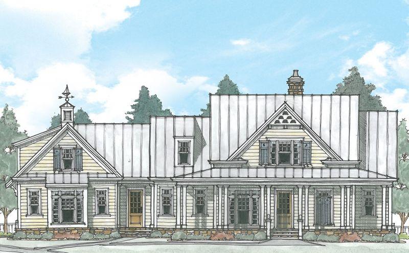 Gulfport Plan From Frank Betz Associates Farmhouse Style House Plans House Plans Farmhouse Frank Betz
