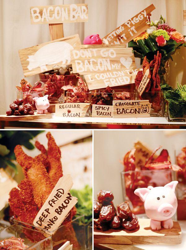 Vamos a la fiesta de cumpleaños del cerdo Alimentos Favoritos 30a Out