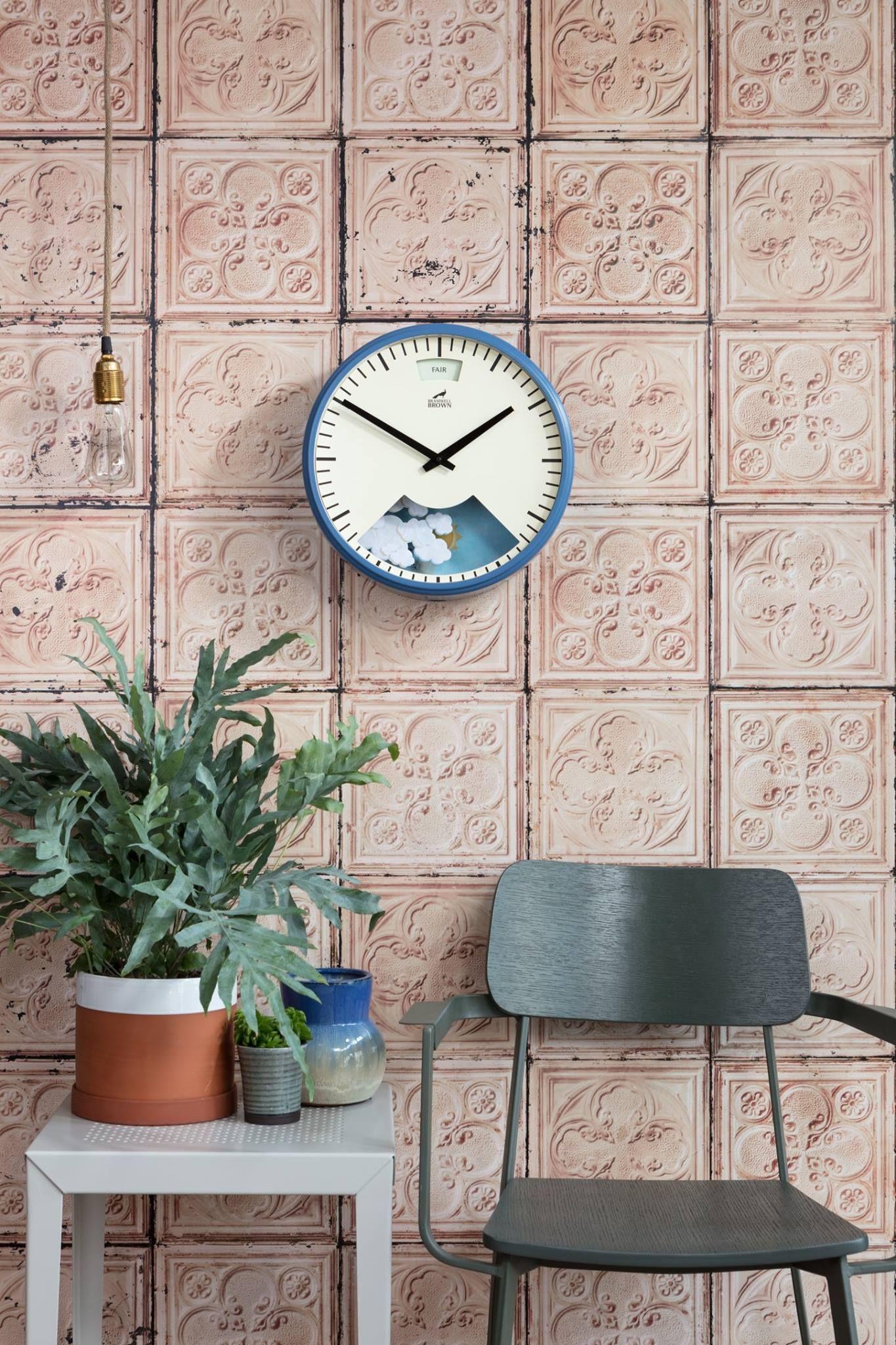 Bramwell Brown Mechanimated Weather Wall Clocks can be