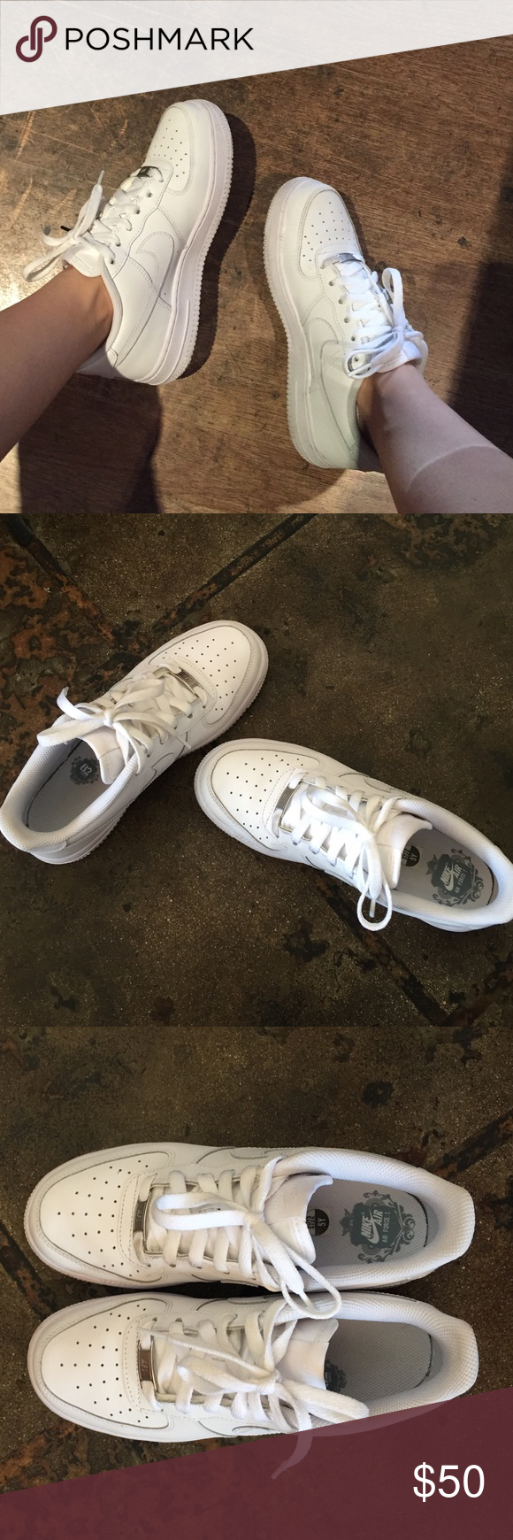 Air Force 1 Women's Size 6.5 or 7 Youth 5! Mint, almost new ...