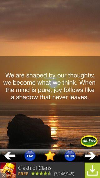 Buddha Quotes 500! Daily Buddhist Meditation & Words of