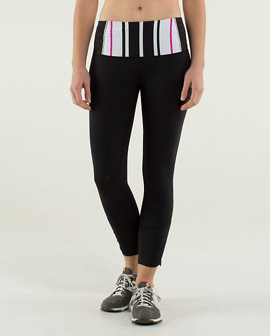 ae8eddda72 We like to keep calm and run on so we designed these reflective run crops to
