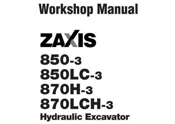 Hitachi ZX850-3 / ZX850LC-3 / ZX870H-3 / ZX870LCH-3