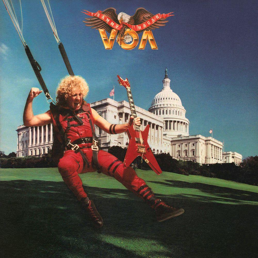 Sammy Hagar Voa Classic Rock Songs Sammy Hagar Rock Album Covers