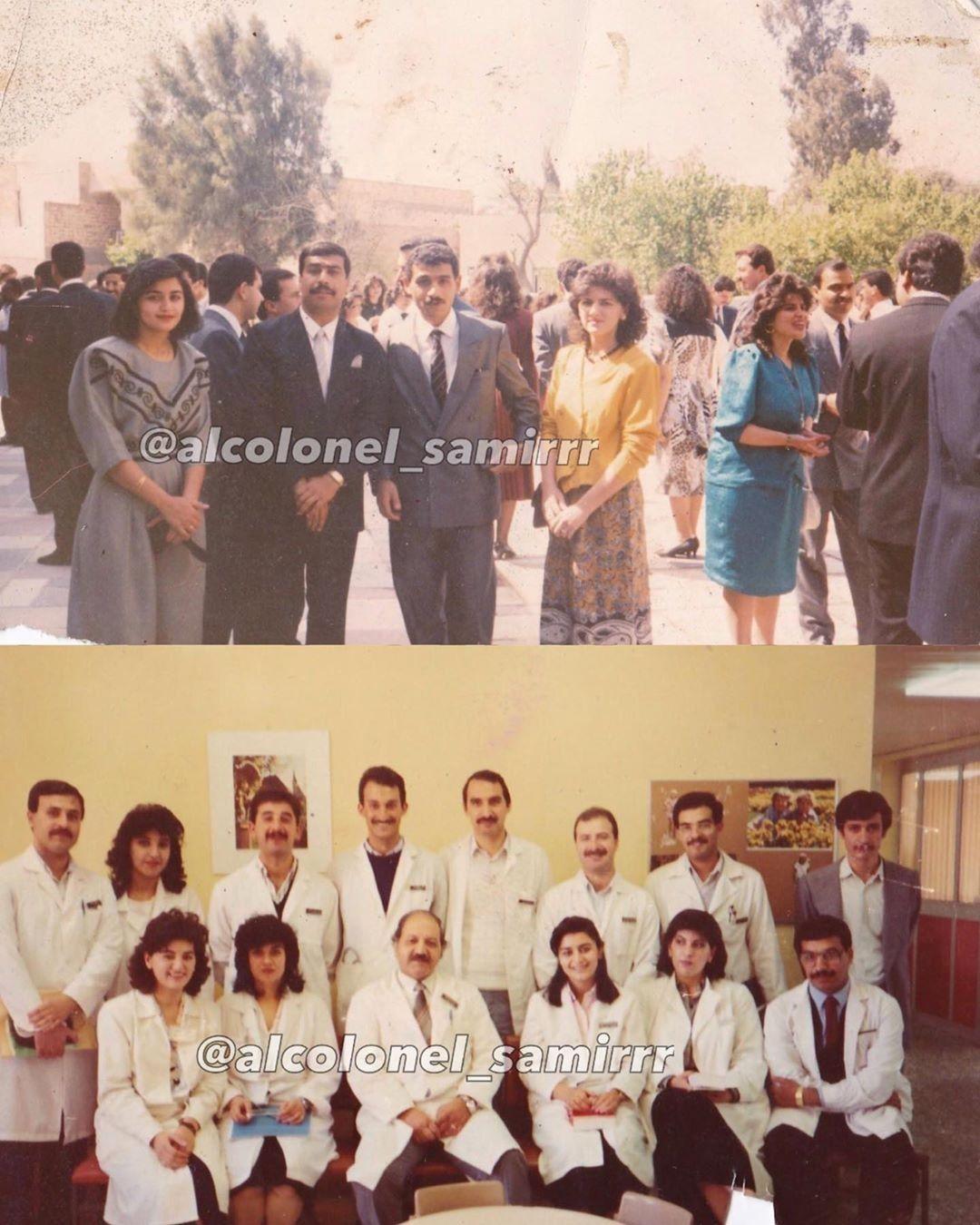العراق لقطات تذكاريه لطلبة كلية الطب الجامعة المستنصرية نهاية الثمانينات Photo Wall Photo Decor