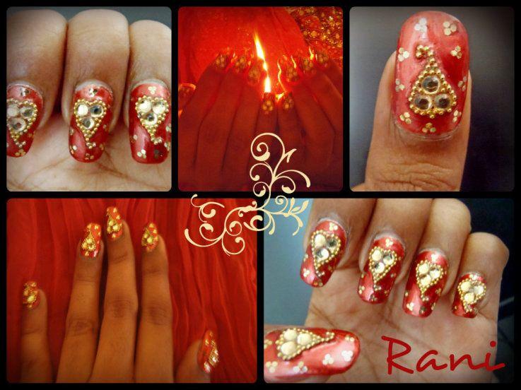Diwali Nails Coolnailsart Nails Nail Art Designs Nail Art