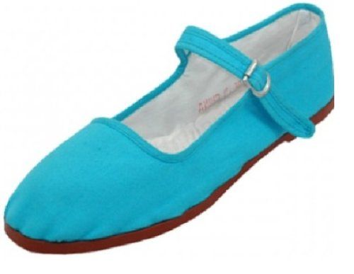 Womens Cotton Mary Jane Shoes Ballerina Ballet Flats Shoes (6, Turq 114) Shoes8teen,http://www.amazon.com/dp/B00FY423OS/ref=cm_sw_r_pi_dp_Lo1Ctb0QAC5Z2MFQ