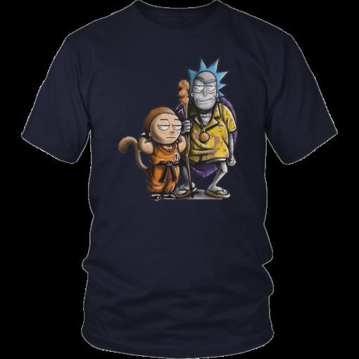Rick And Morty Dragon Ball Z Shirt Dragon Ball Z Shirt Rick And Morty Mickey Mouse T Shirt