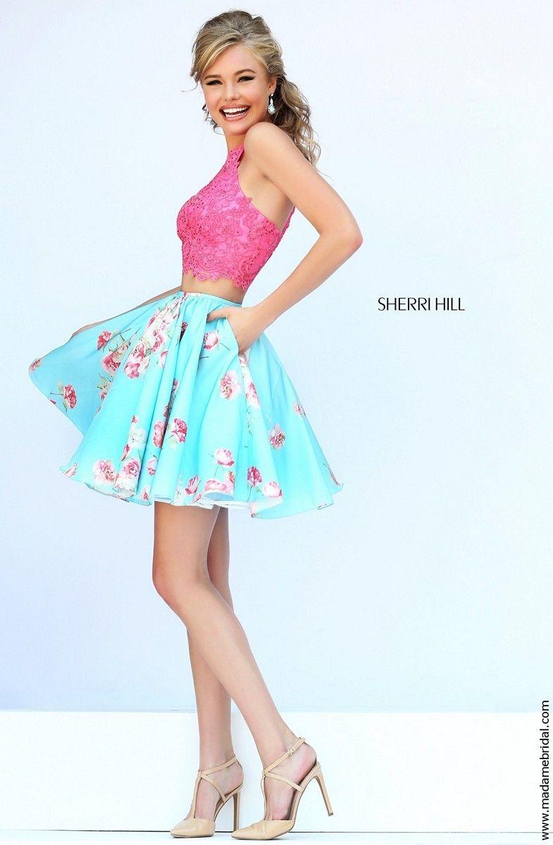 sherri hill two piece - Google претрага | prom look | Pinterest ...