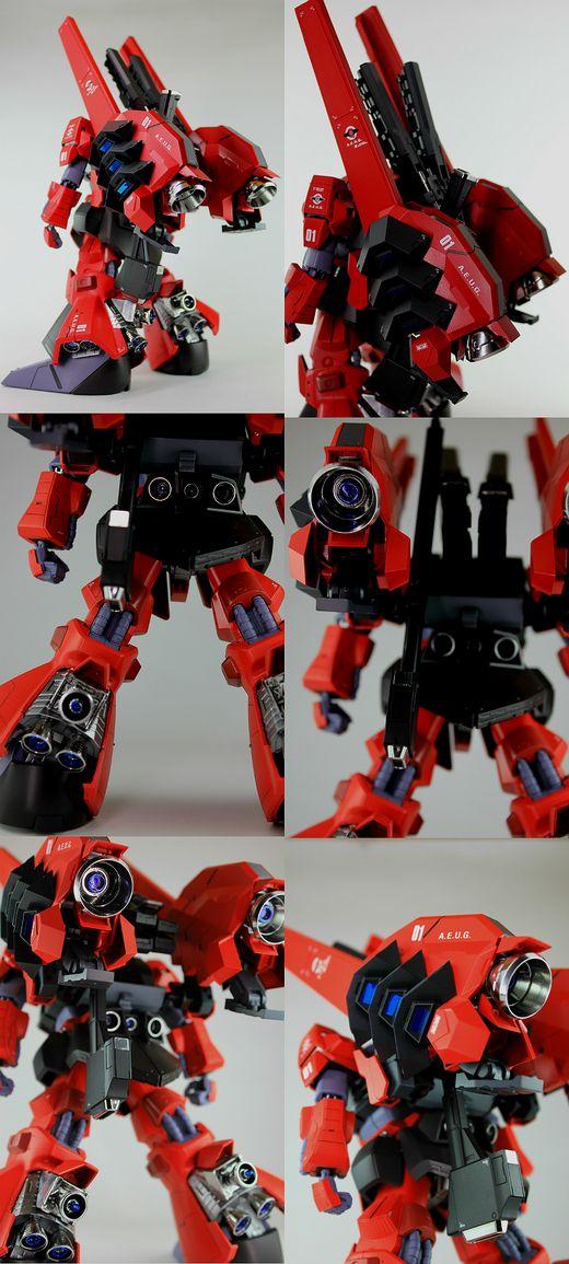 "Custom Build: MG 1/100 Rick Dias Quattro Bageena ""Detailed"" - Gundam Kits Collection News and Reviews"