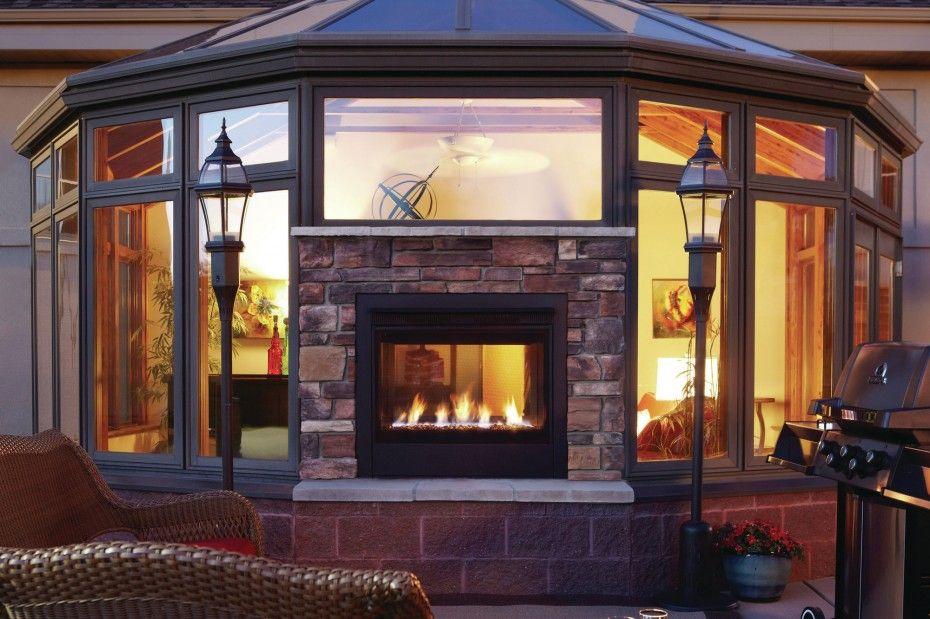 Fireplace Inspiration Double Sided Fireplace Indoor Outdoor Fireplaces Outdoor Gas Fireplace Double Sided Gas Fireplace