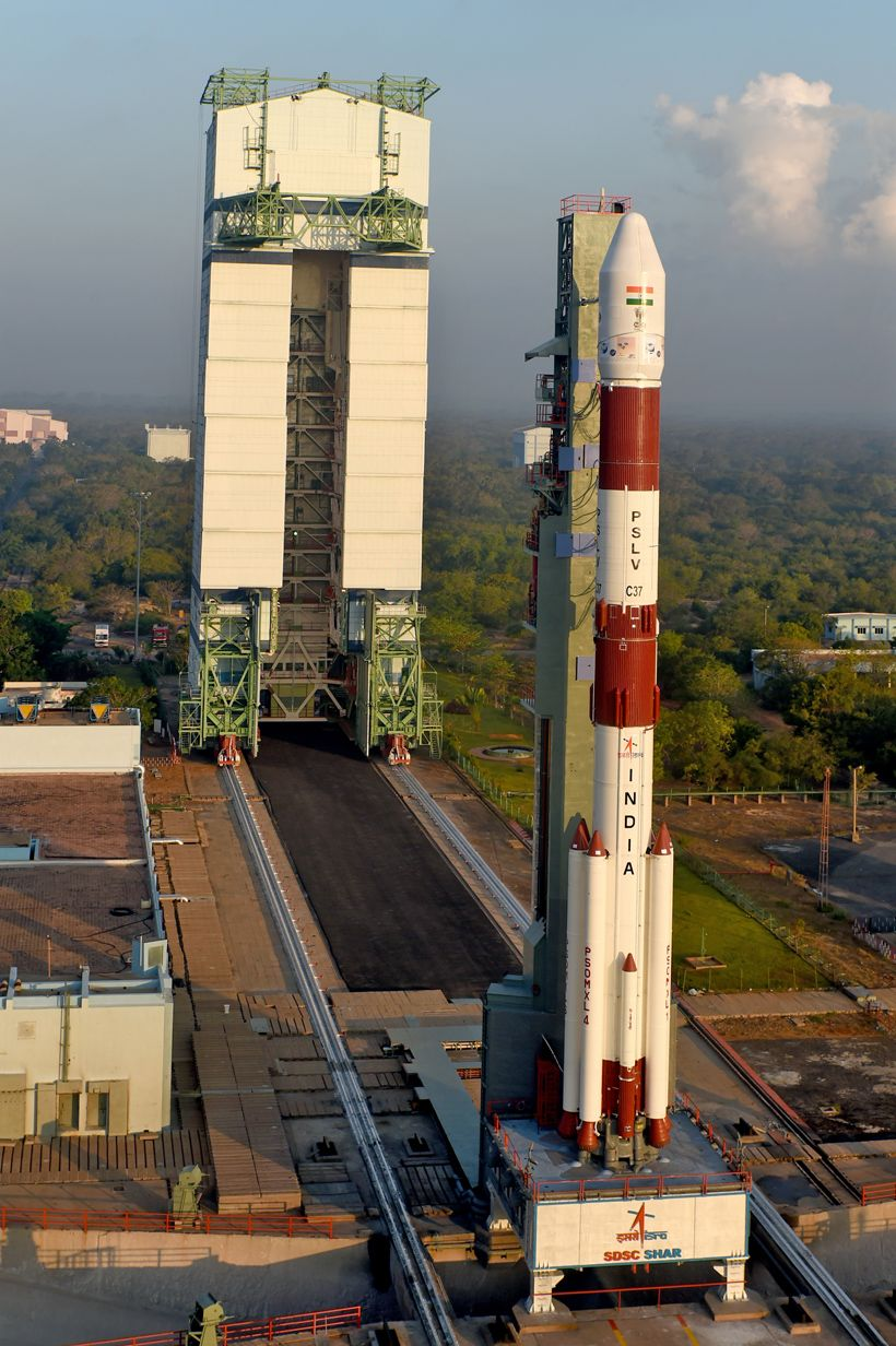 Gallery Pslv C37 Cartosat 2 Series Satellite Isro Pslv C37 Cartosat 2 Indian Space Research Organisation World Records Space Exploration