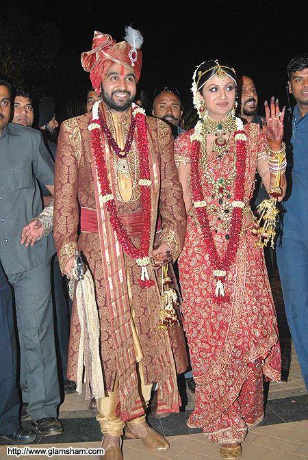 Shilpa Shetty Marriage Marriage Photos Of Shilpa Shetty Sareee