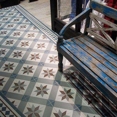 Nice Kerion Optic Mer Tile In The Hallway Intérieurs Et Carreaux - Carrelage kerion