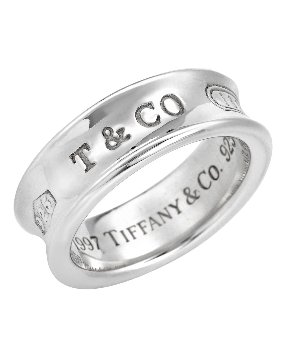 Product Name Tiffany Co Sterling Silver Ring Band 7 10 Condition At Modnique Com 149 Sterling Silver Rings Bands Tiffany Jewelry Sterling Silver Rings