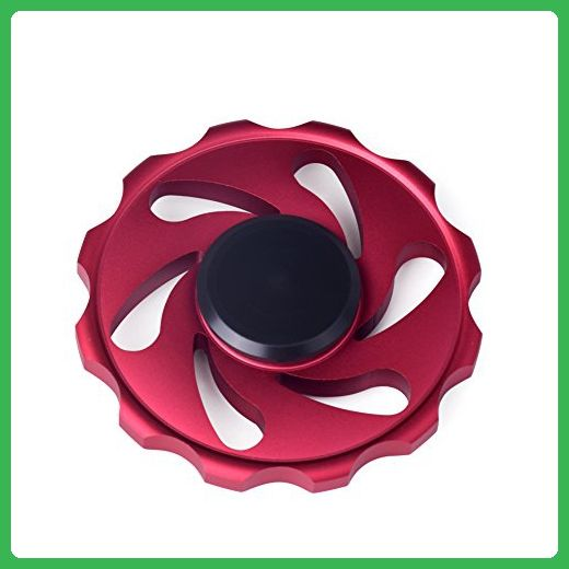 LIJiEYIN Focus Deep Thinking Gadget Red Cyclone Fidget Spinners For ADHD Workaholics