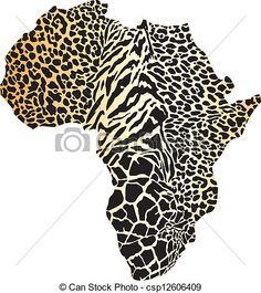 tattoo africa map - Pesquisa Google