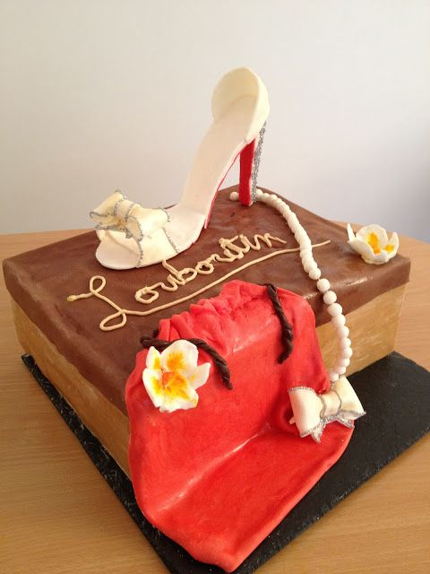 03b0b15610b2fd Voici le tutoriel pour réaliser un gâteau boîte à chaussures et sa chaussure.  Pour le