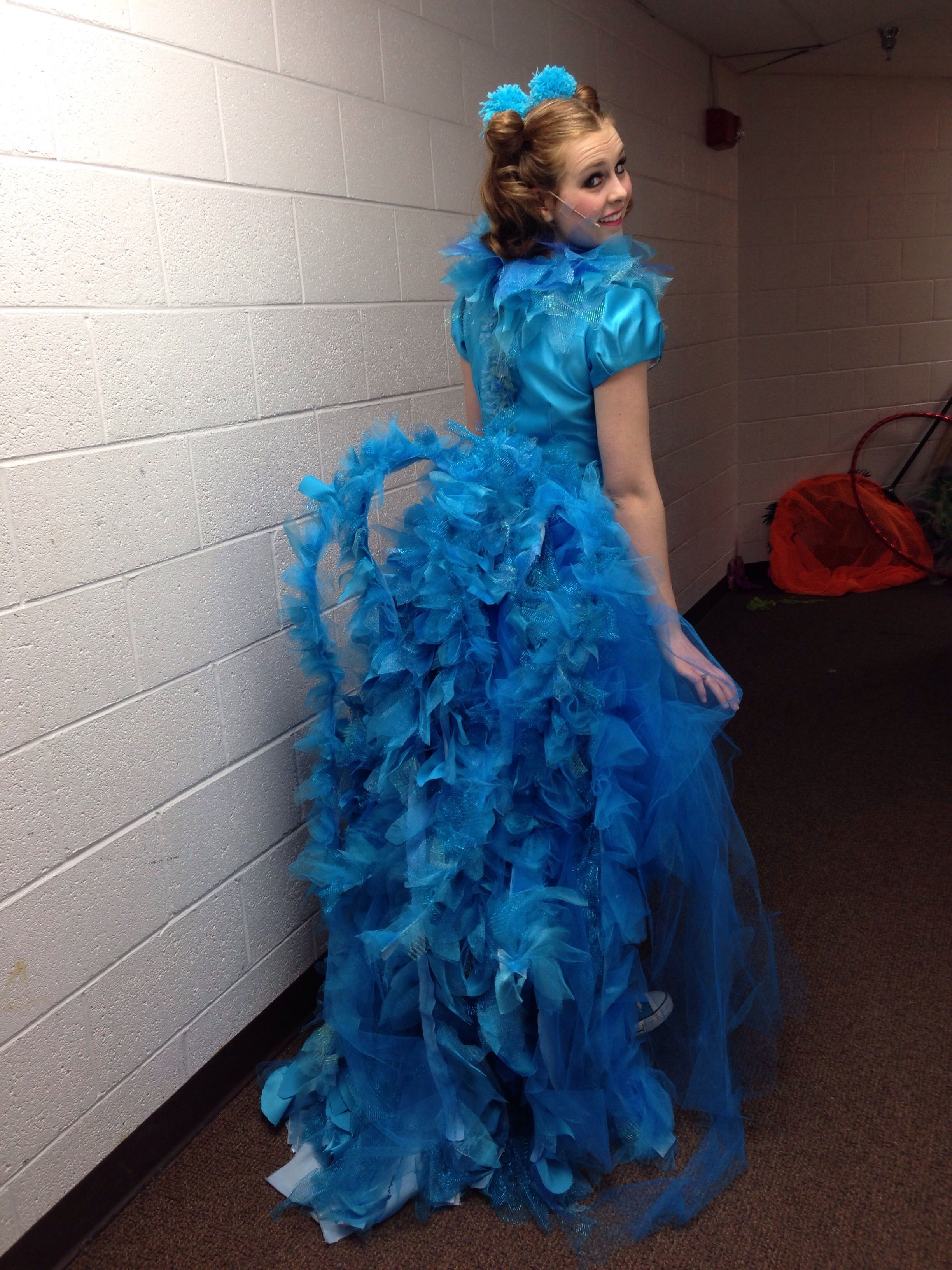 By far favorite costume for the sisters to wear to the ball!  sc 1 st  Pinterest & Gertrude McFuzzu0027s Tail for Seussical | Pinterest | Costume design ...