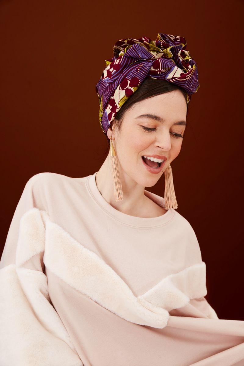 Turban facile en tissus africain