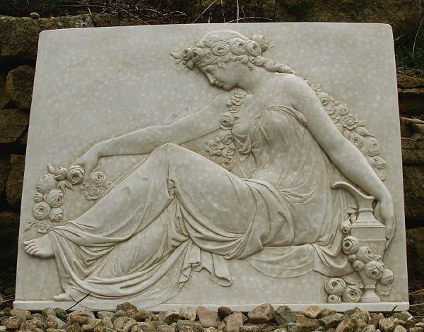 Garden Wall Plaques : Greek Wall Plaques : Greek Mythology Wall Plaque  U0027Aphroditeu0027