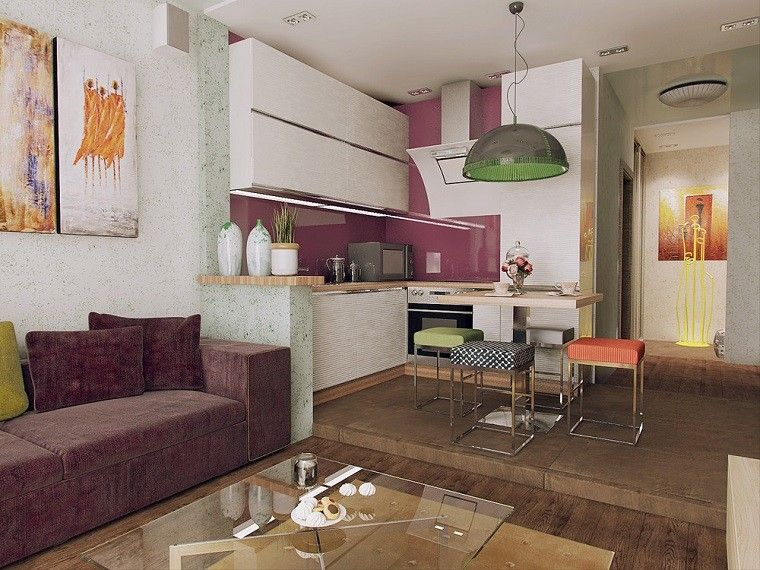 Apartamentos pequeños ideas de diseños funcionales Lujoso, Diseño