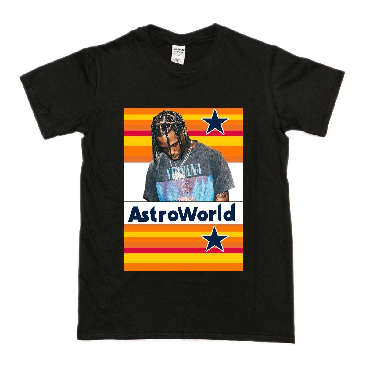 1b2a6587d Travis Scott Astroworld T-Shirt | Matt | Travis scott astroworld ...